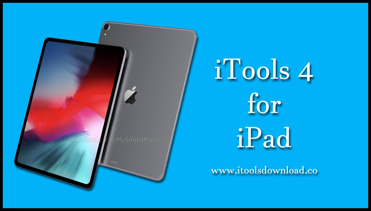 iTools 4 for iPad
