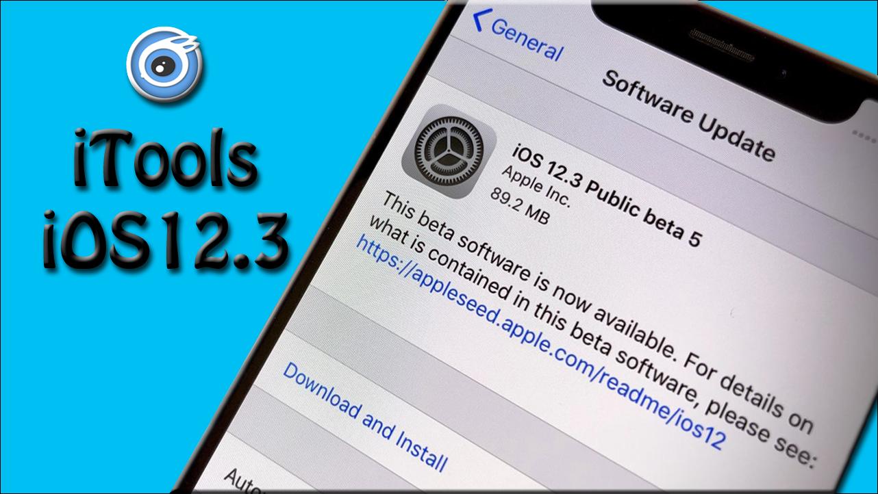 iTools iOS 12.3